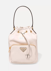 Vela small leather bucket bag