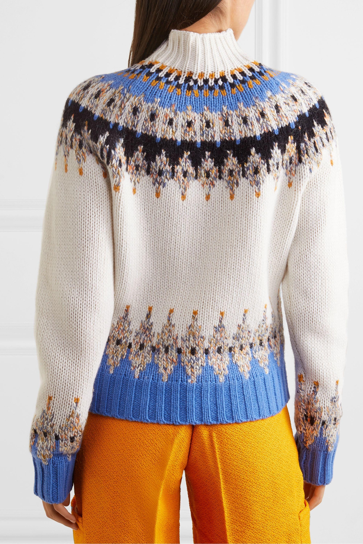 Stine Goya Justin Fair Isle wool-blend turtleneck sweater