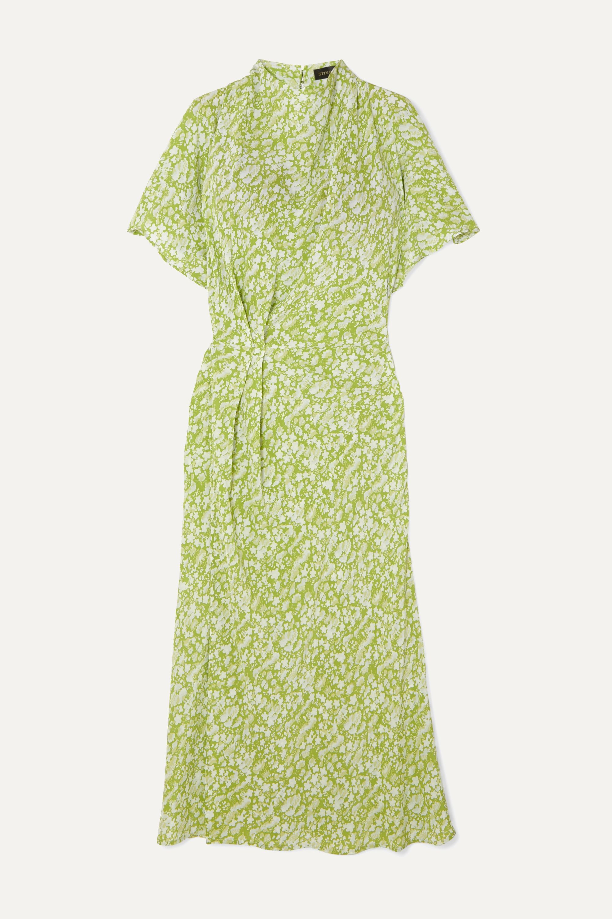 NEXT Really Pretty Lime Green Dress Size 6-9 Months NWT