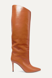 Alex leather knee boots