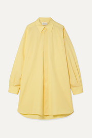 Maison Margiela Oversized cotton-poplin shirt