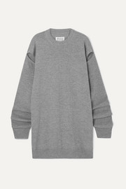 Maison Margiela Cutout wool and cashmere-blend sweater