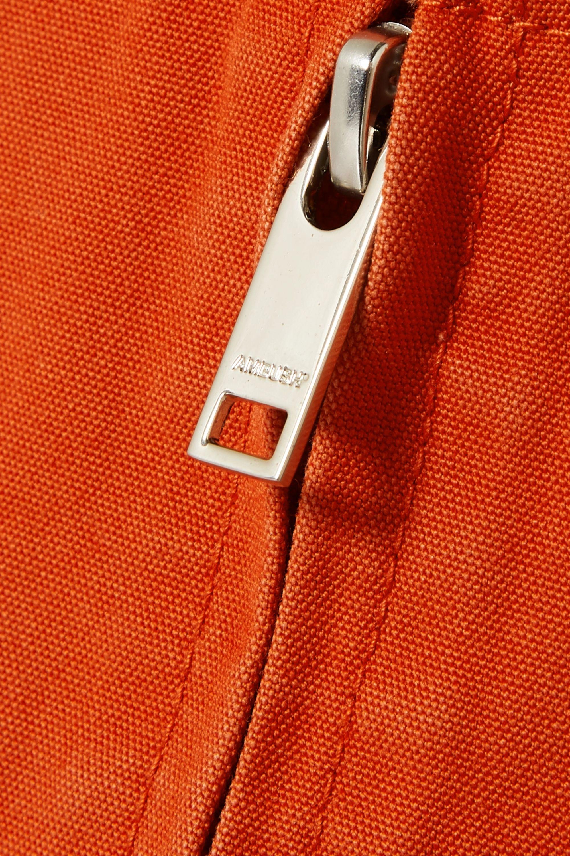 AMBUSH® Zip-detailed cotton-canvas pants