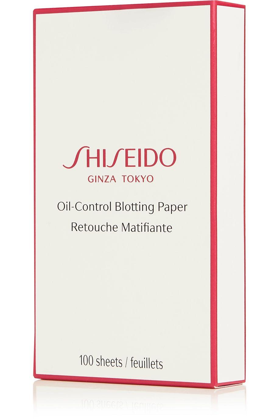 Shiseido Oil-Control Blotting Paper x 100 – Mattierendes Papier