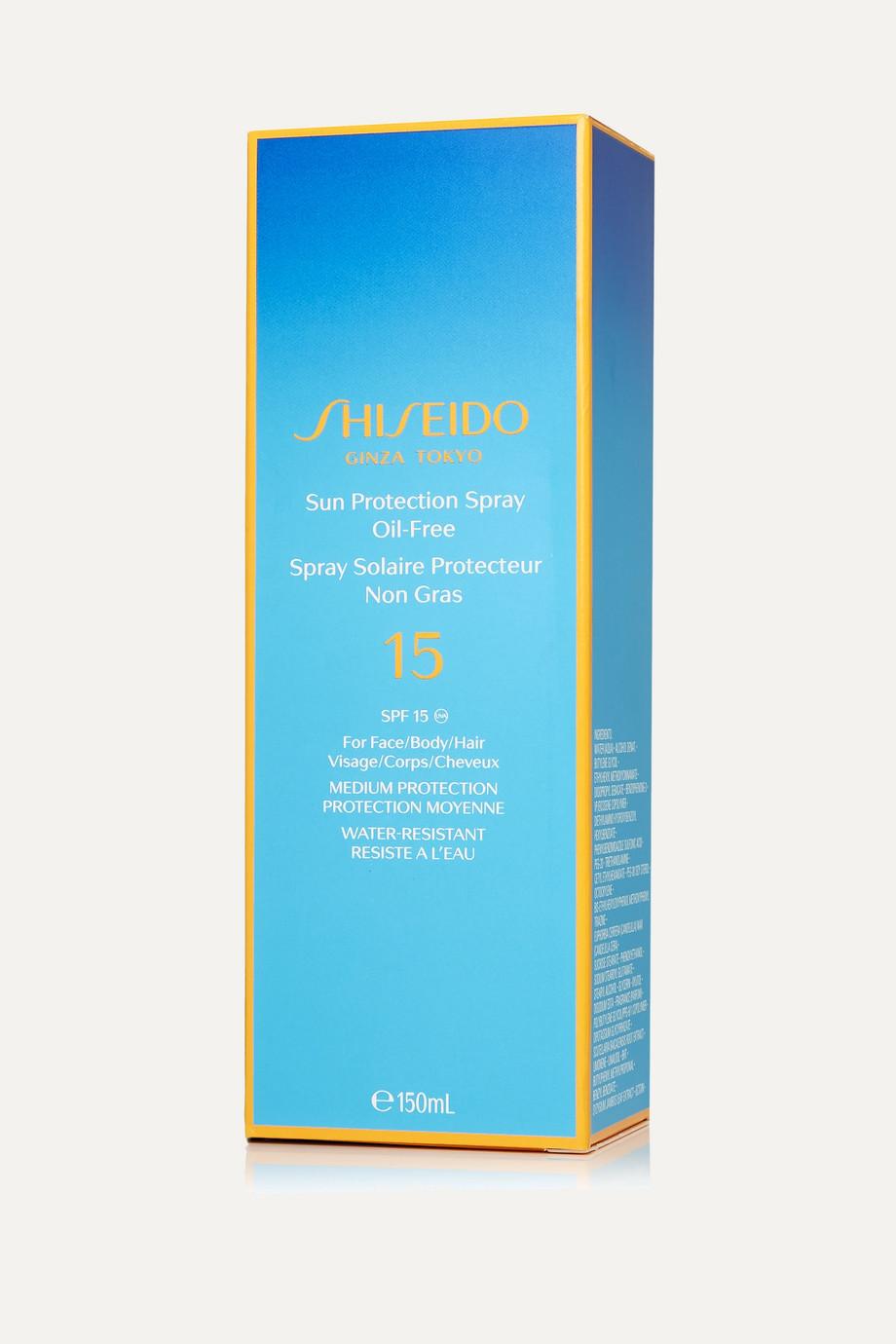 Shiseido Sun Protection Spray Oil-Free SPF15, 150ml