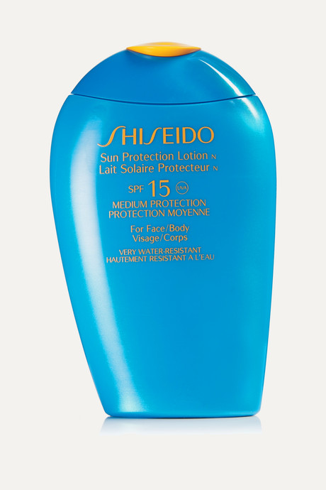 Colorless Sun Protection Face & Body Lotion SPF15, 150ml   Shiseido dcWEsR