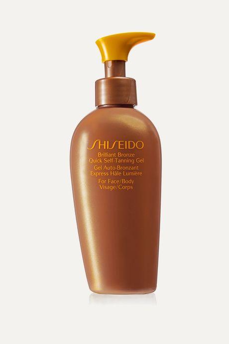 Colorless Brilliant Bronze Quick Self-Tanning Gel, 150ml   Shiseido F313XZ