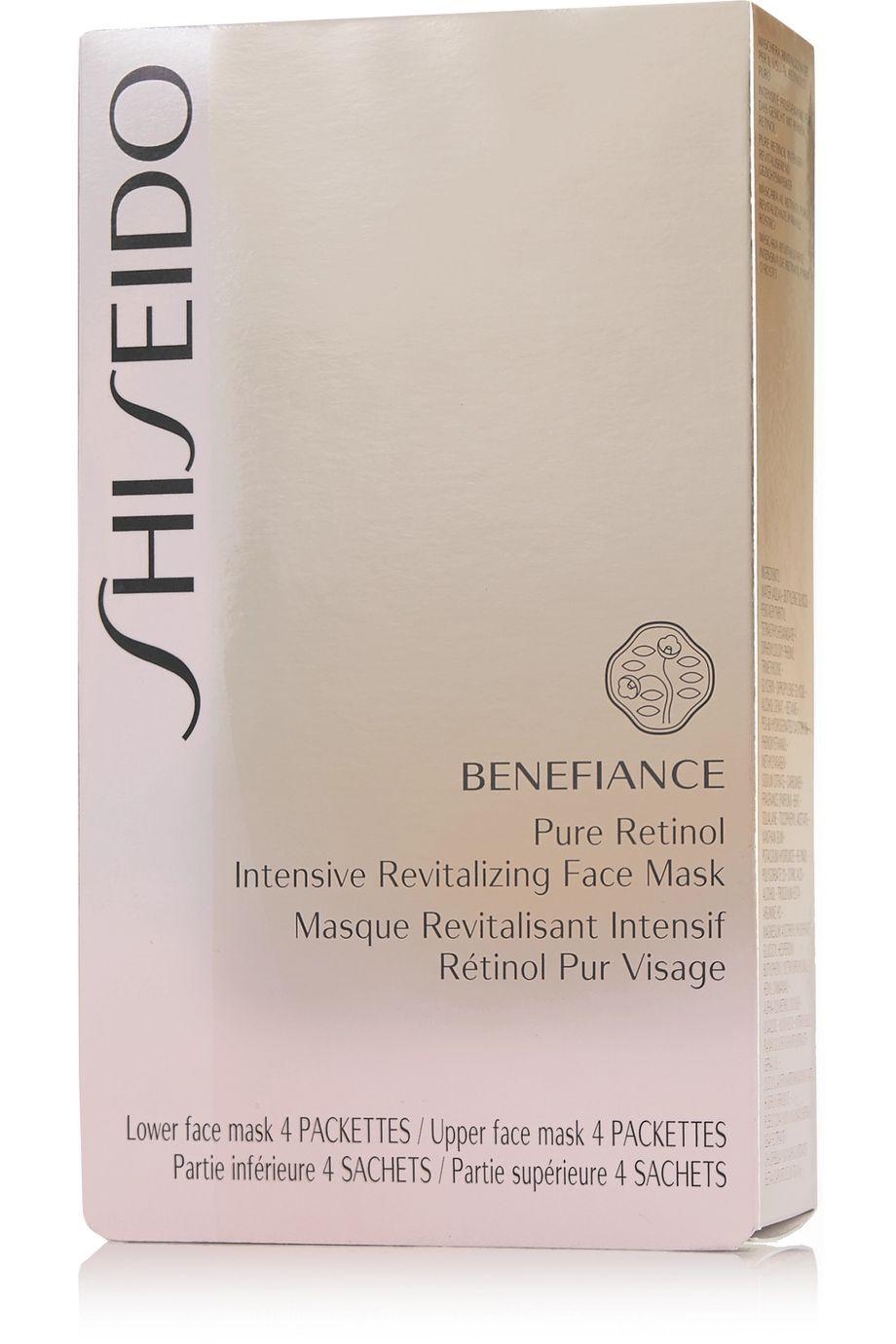 Shiseido Benefiance Pure Retinol Intensive Revitalizing Face Mask  – 4 Stück – Gesichtsmasken