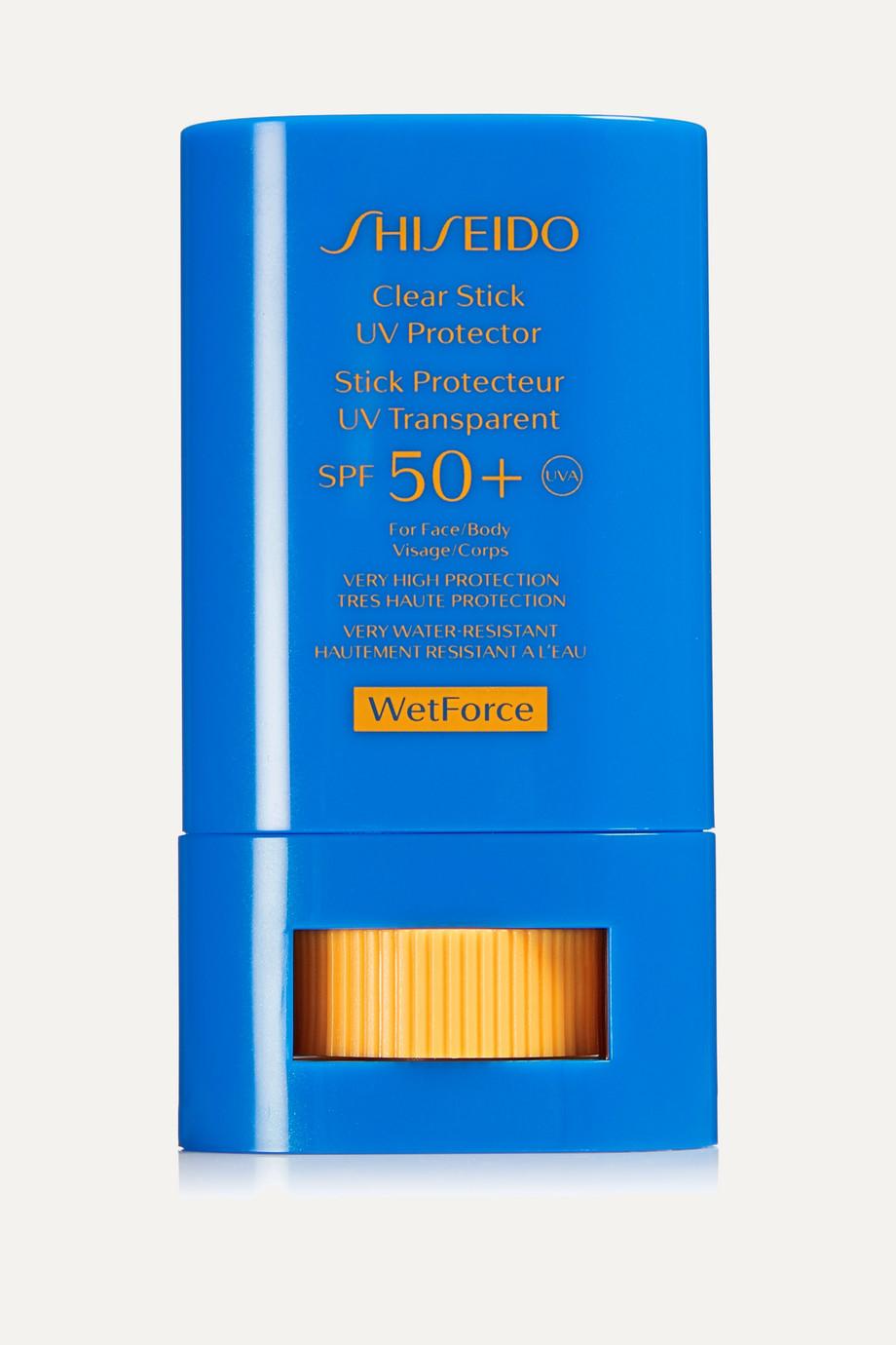 Shiseido Clear Stick UV Protector WetForce SPF50+, 15g