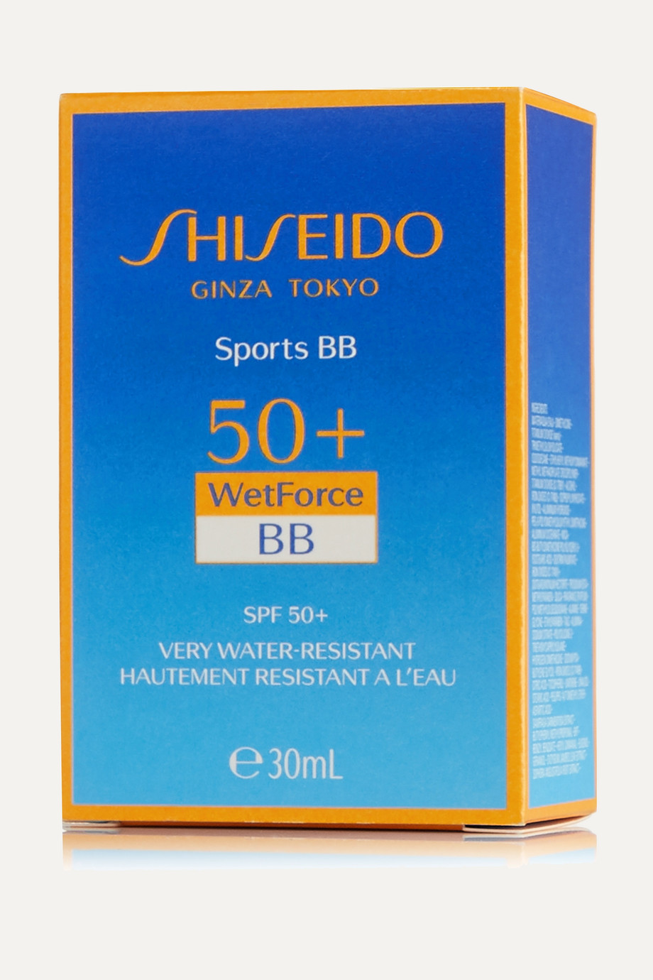 Shiseido Sports BB WetForce LSF 50+ – Light, 30 ml – Getönte Sonnencreme