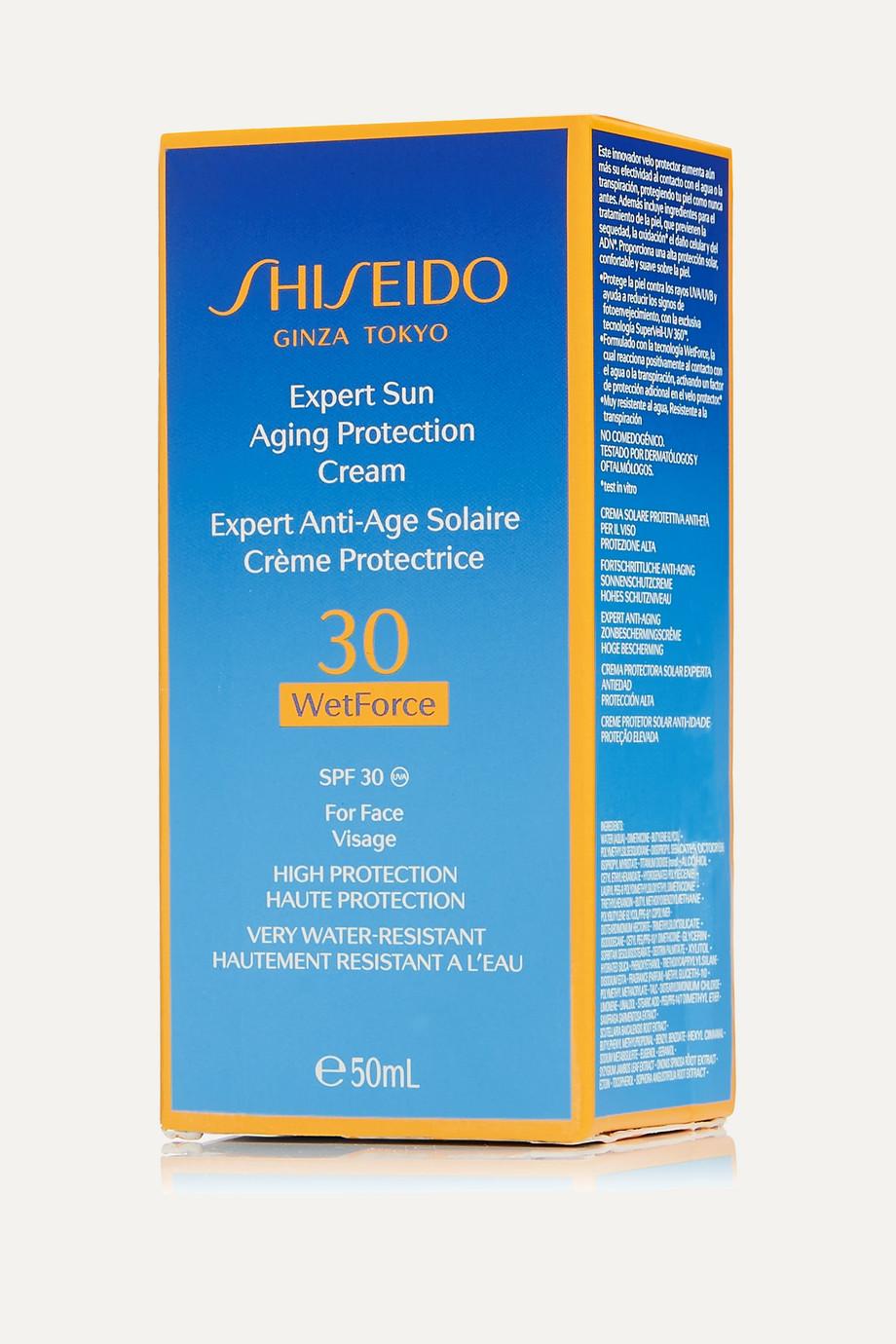 Shiseido WetForce Expert Sun Aging Protection Cream SPF30, 50ml