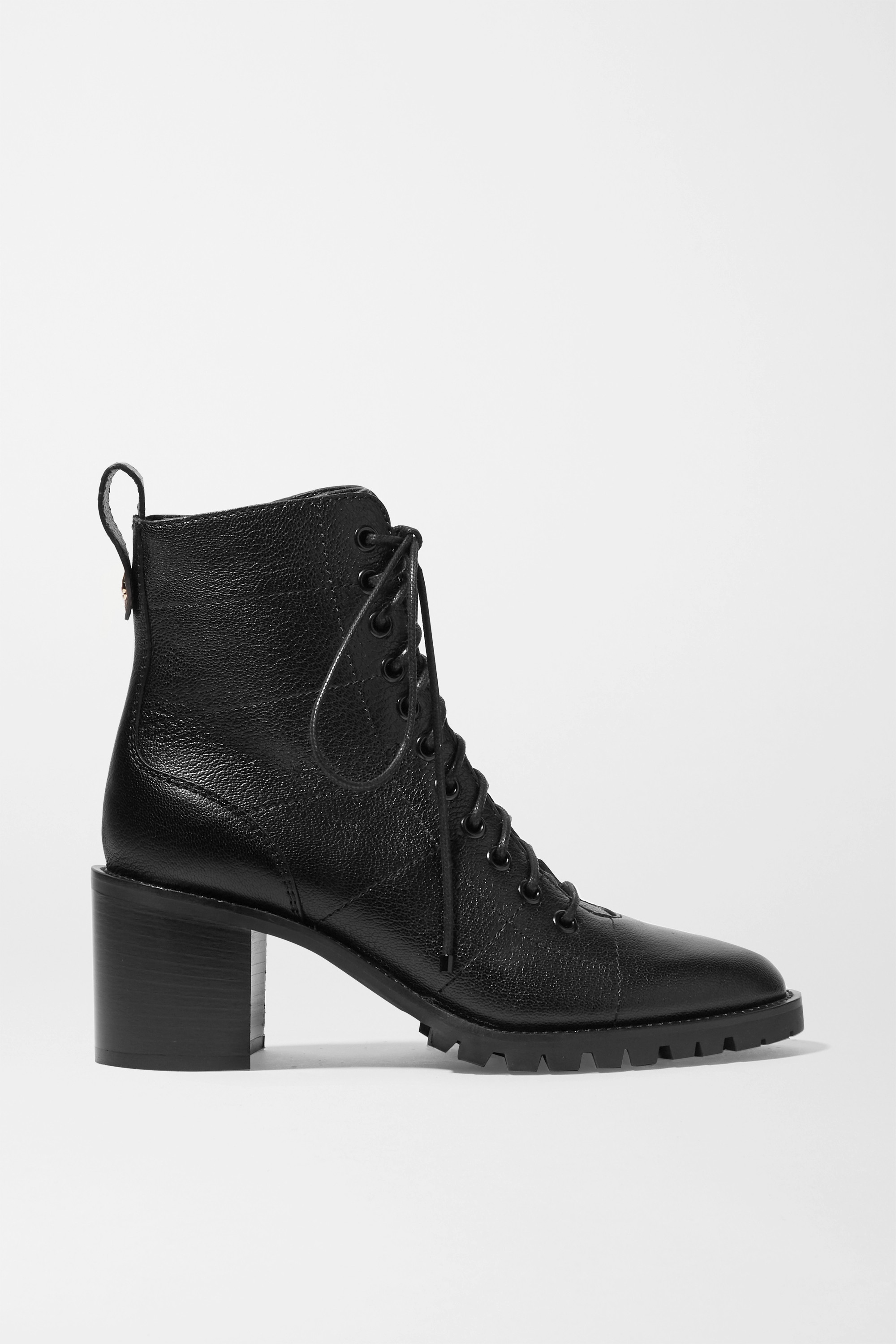 Jimmy Choo Cruz 65 textured-leather ankle boots