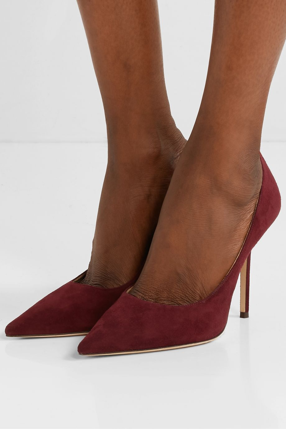 Jimmy Choo Love 100 suede pumps