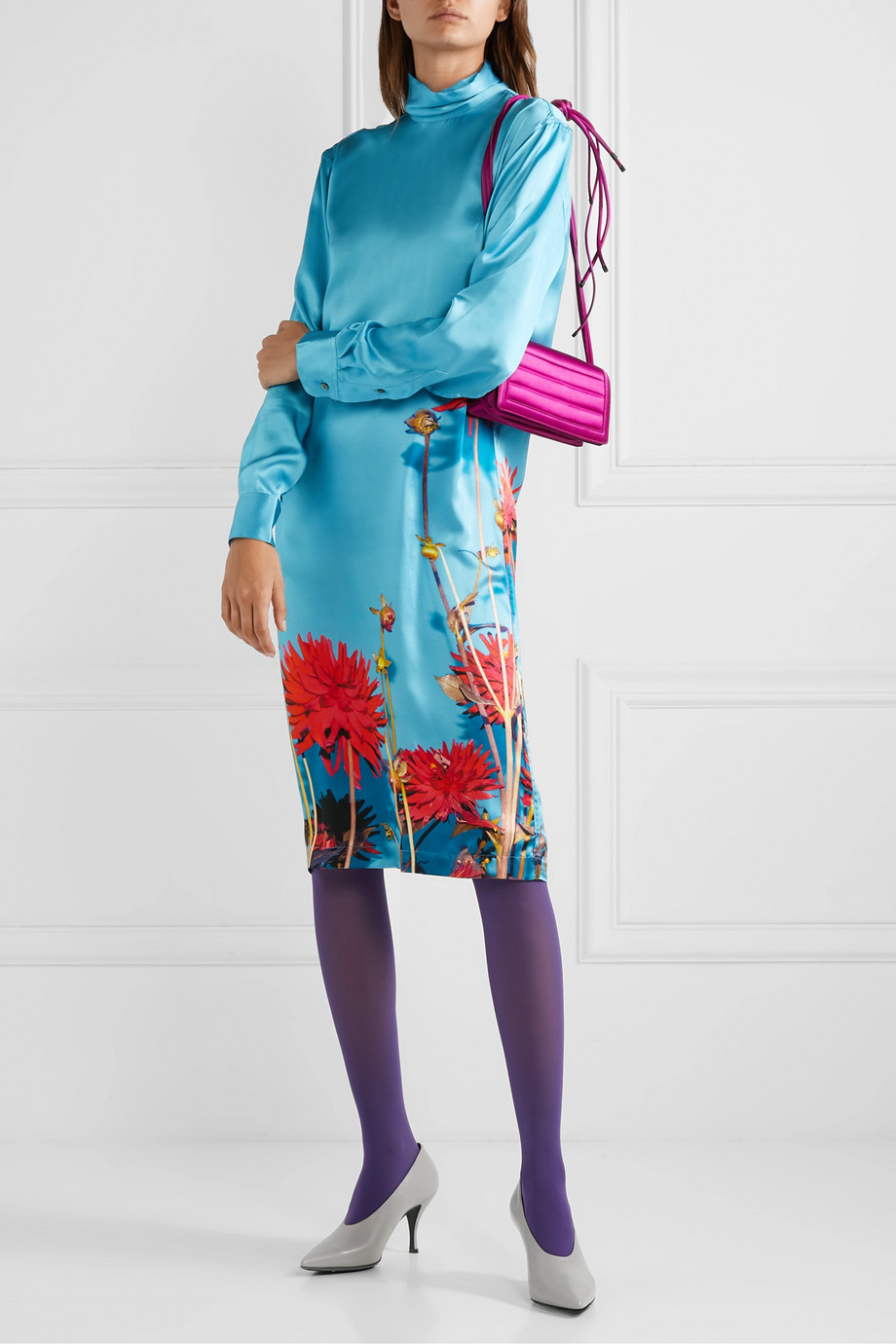 Dries Van Noten Dontisy floral-print satin dress
