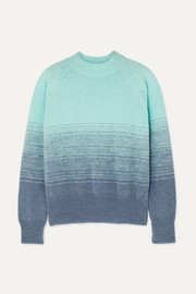 Knitted ombré sweater