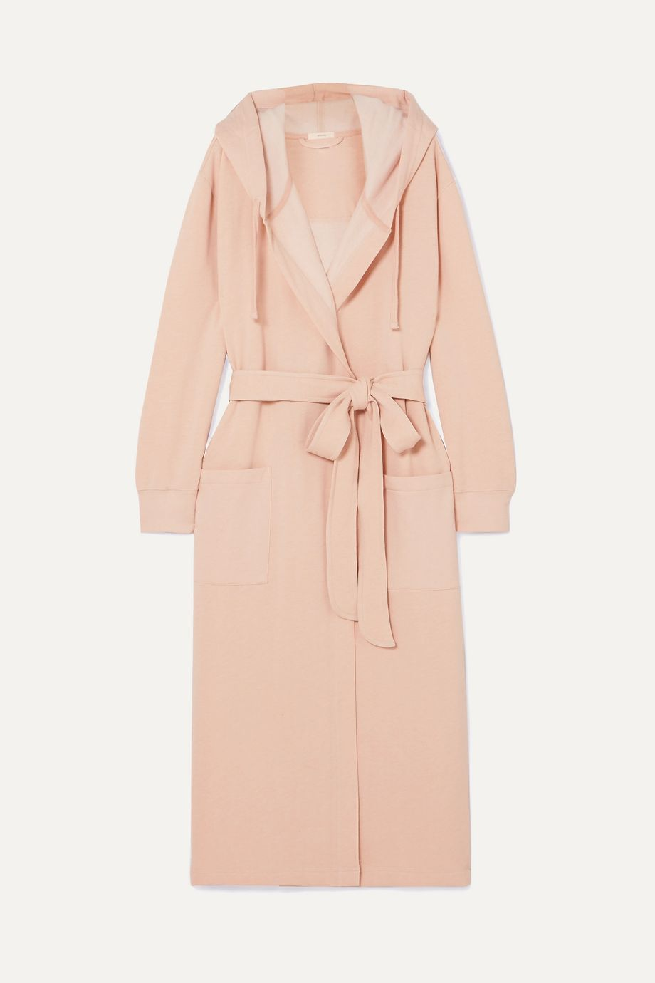 Eberjey Larken hooded cotton-blend robe