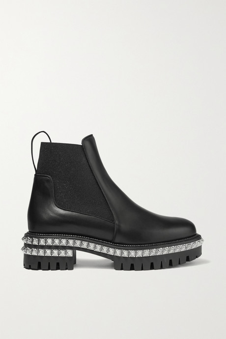 Black By The River 50mm studded leather Chelsea boots | Christian Louboutin gyQI6w