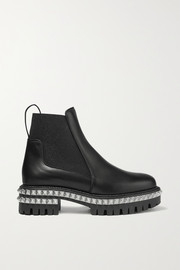 By The River 50mm studded leather Chelsea boots