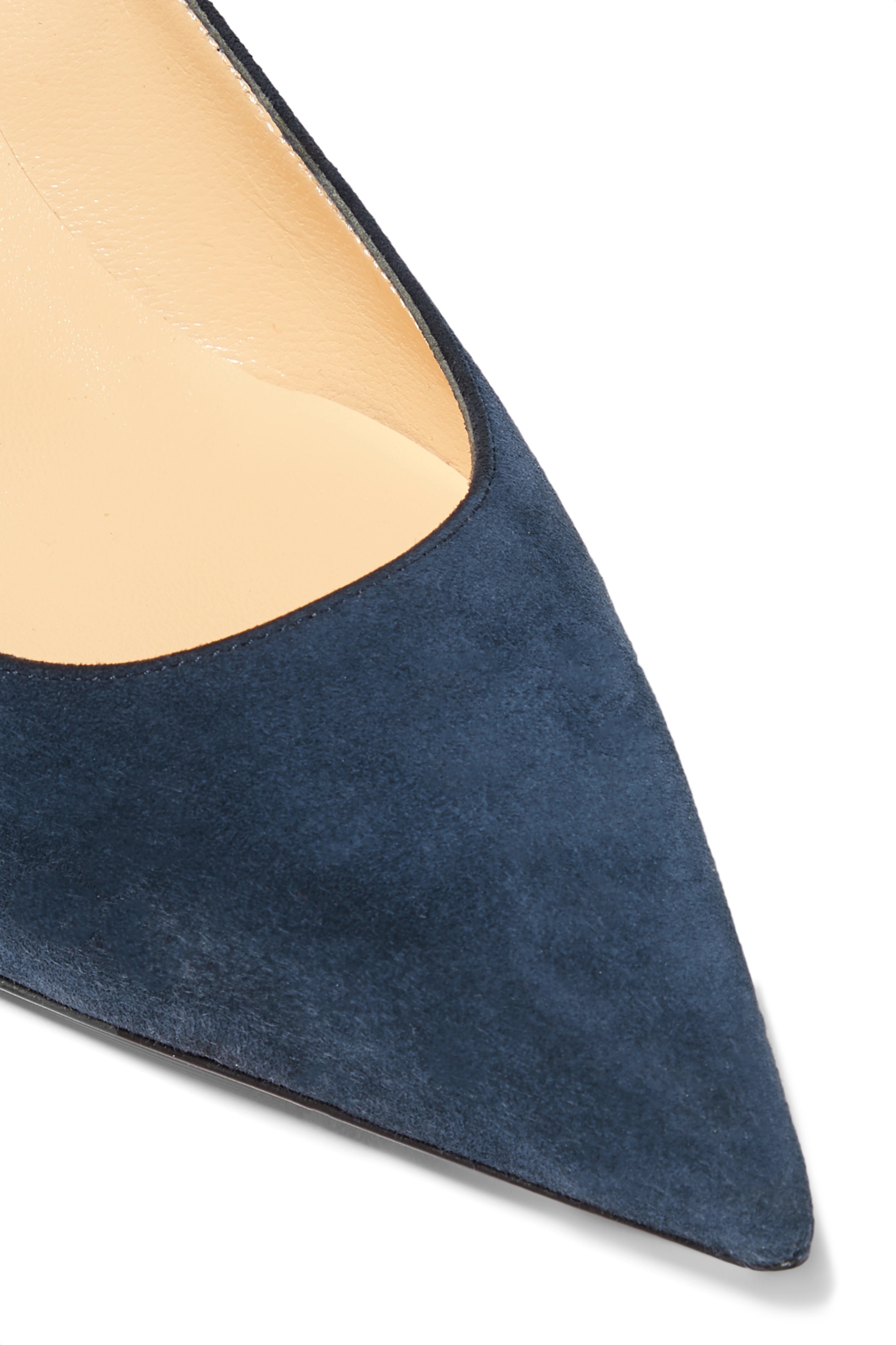Christian Louboutin Kate 55 suede pumps