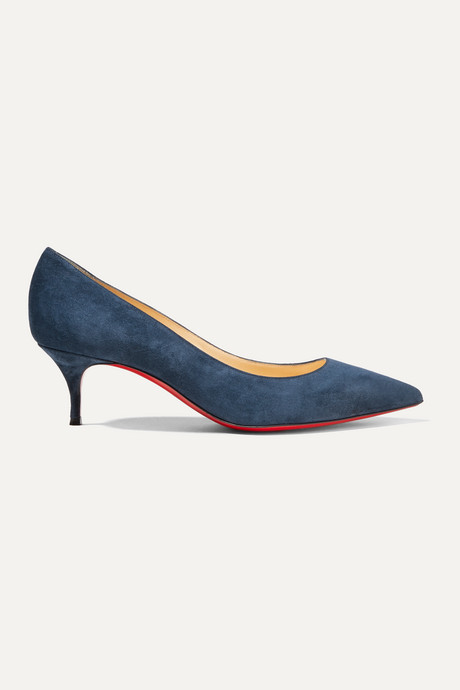 Navy Kate 55 suede pumps | Christian Louboutin F4WCsS