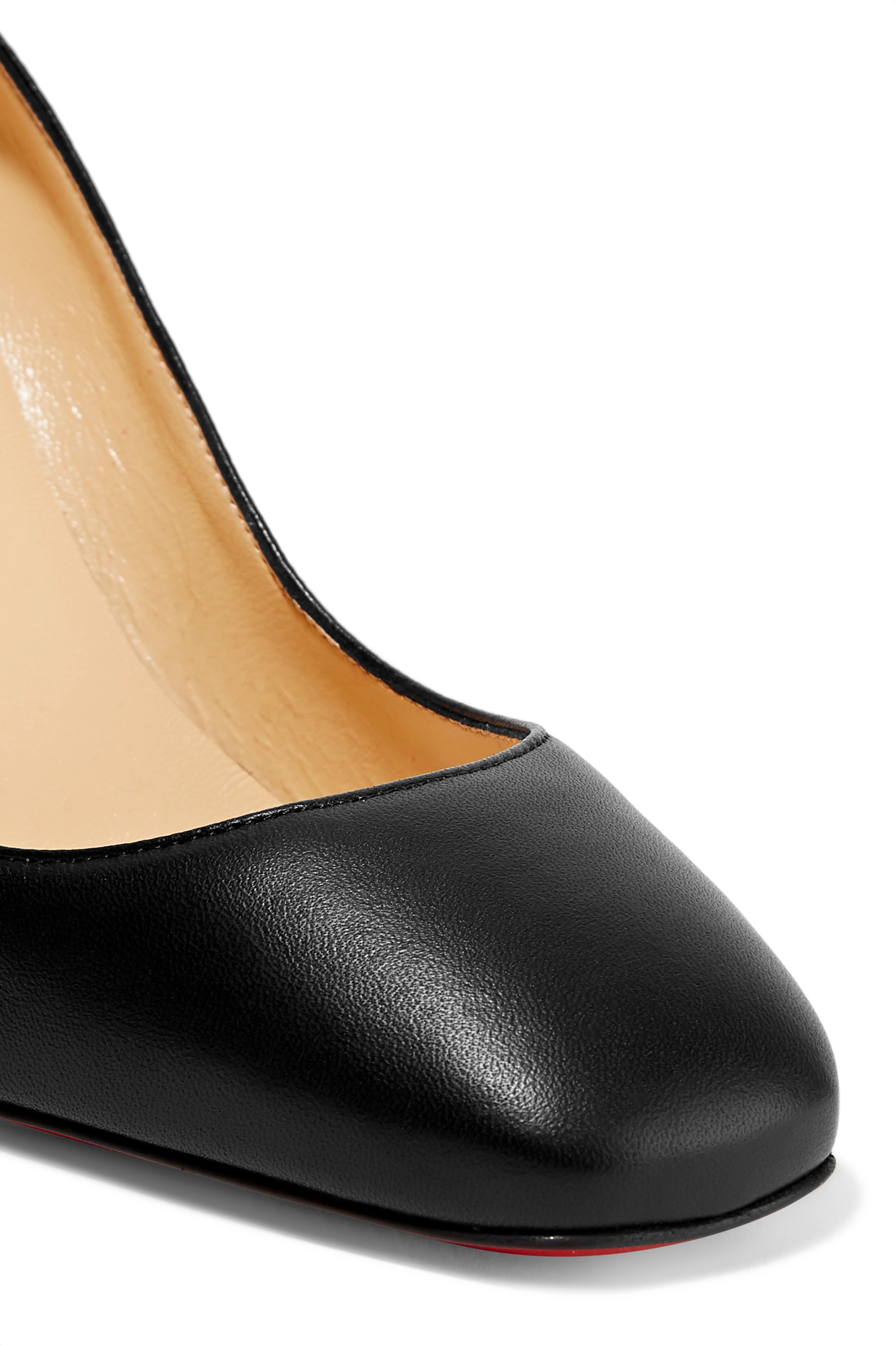Black Donna 85 Studded Leather Pumps | Christian Louboutin