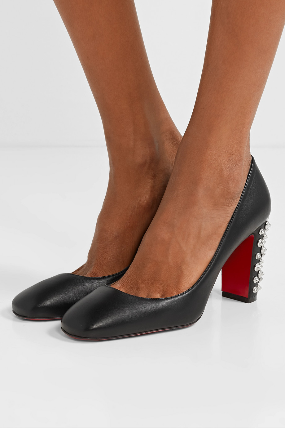 Christian Louboutin Donna 85 studded leather pumps