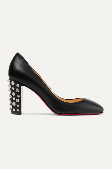 Black Donna 85 studded leather pumps | Christian Louboutin xyJjDo
