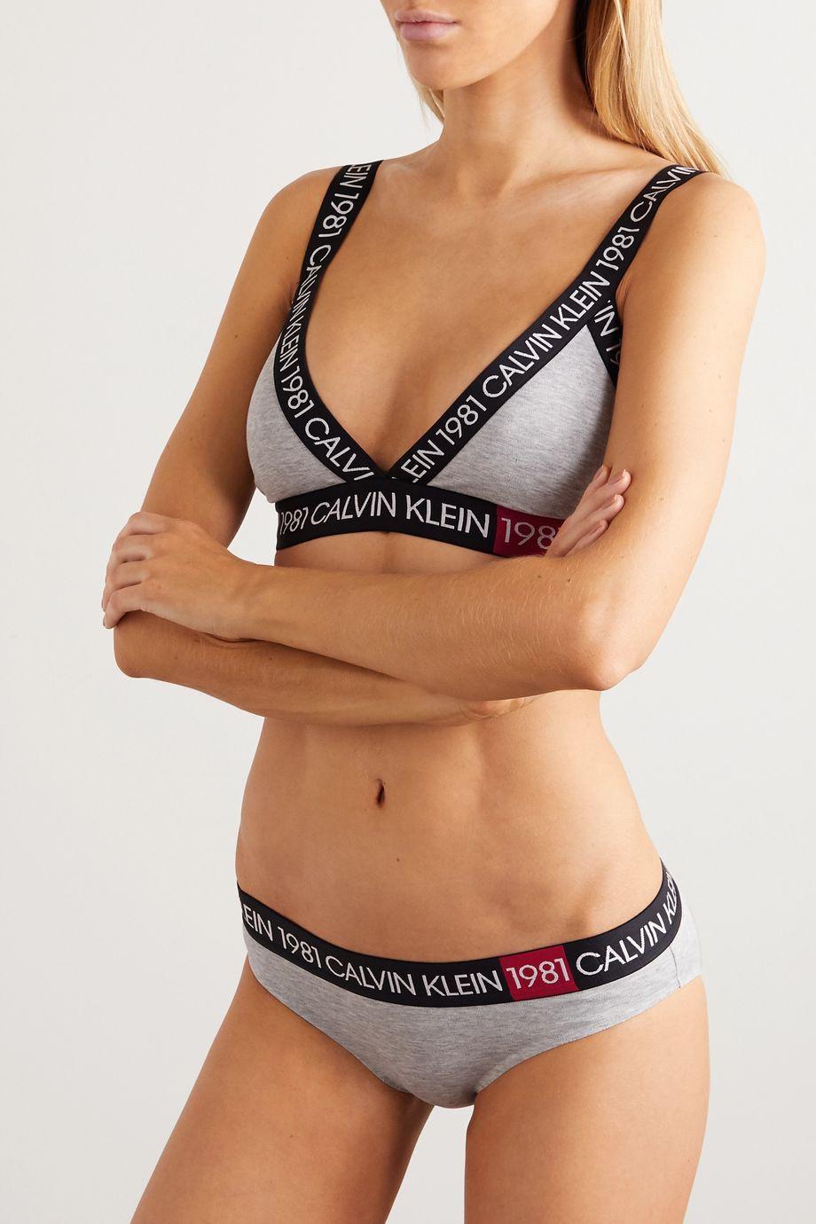 Calvin Klein Underwear Stretch-cotton jersey briefs