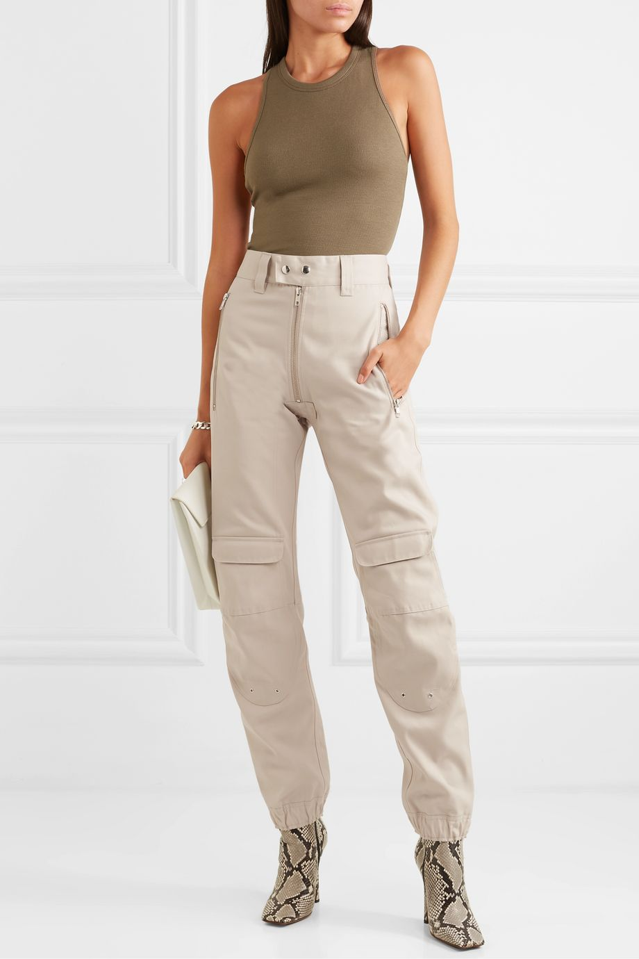 GmbH Yolanda twill cargo pants
