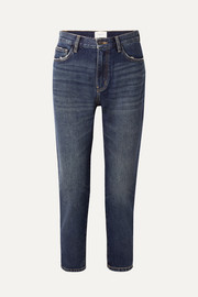 The Fling distressed low-rise slim boyfriend jeans