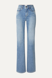Current/Elliott The Scooped Jarvis mid-rise flared jeans