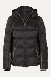 Bogner Sanne-D hooded quilted down ski jacket