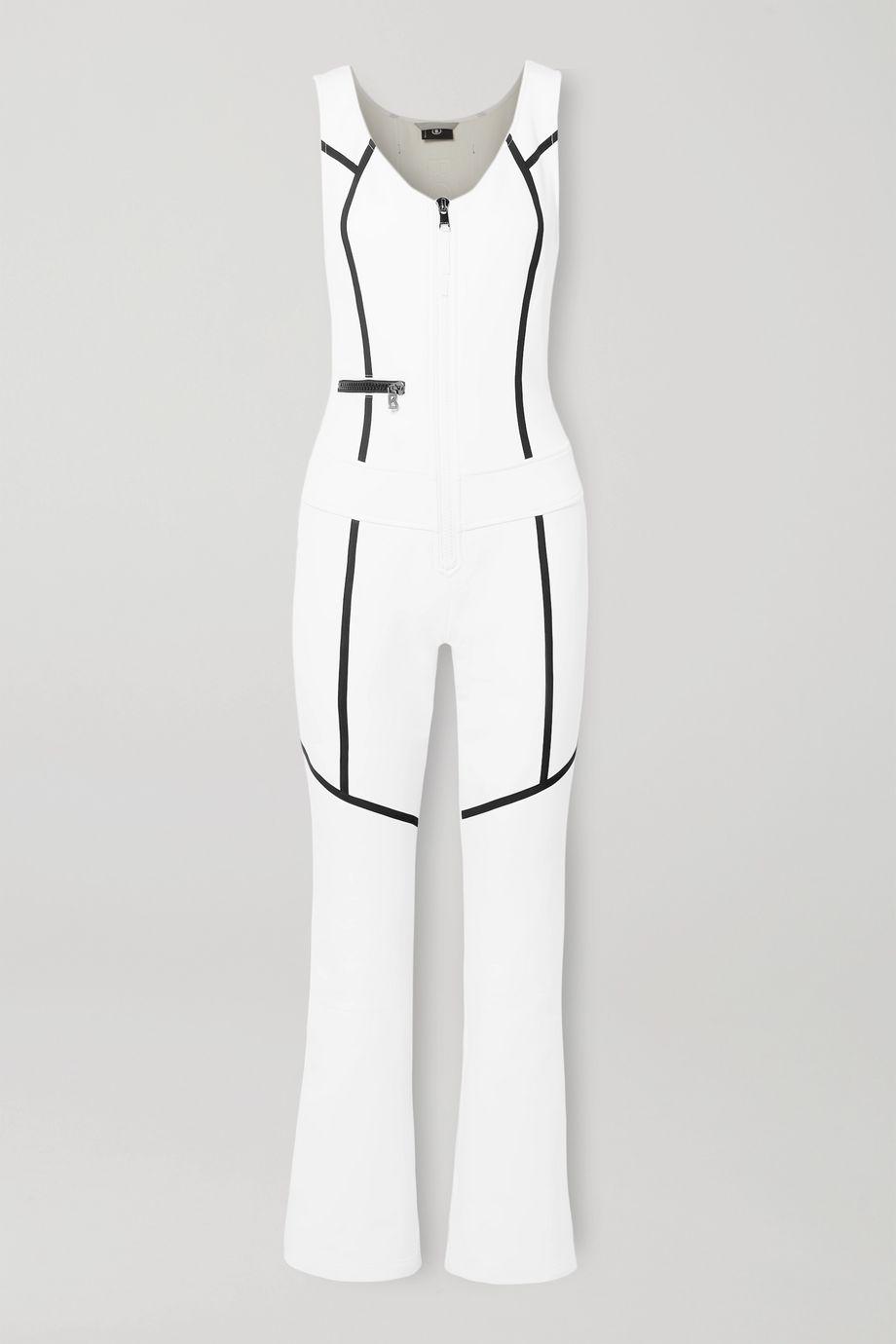 Bogner Terri striped stretch ski suit