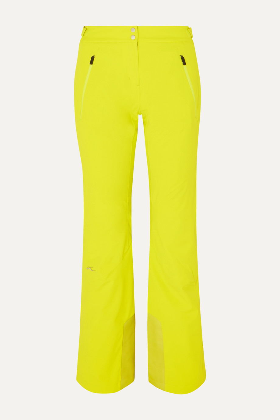 Kjus Formula neon slim-leg ski pants