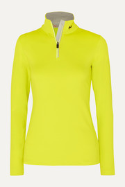 Kjus Feel neon stretch-jersey turtleneck top