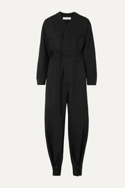 TRE by Natalie Ratabesi The Persephone stretch wool-blend jumpsuit