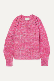 Hubert mélange knitted sweater