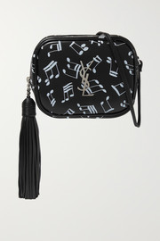 SAINT LAURENT Monogramme Blogger printed leather shoulder bag