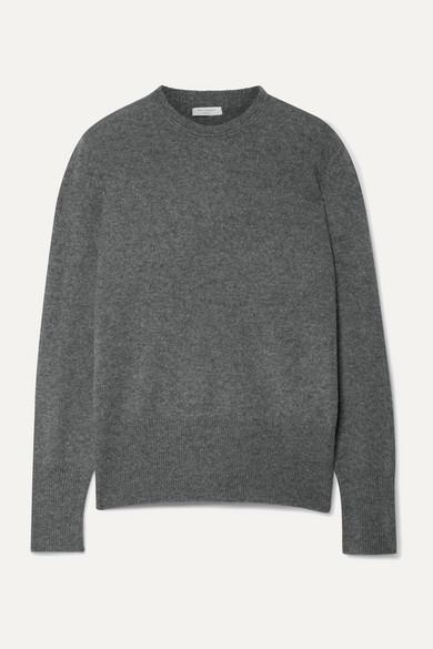 Equipment Sanni Cashmere Crew Neck Sweater In Dark Gray