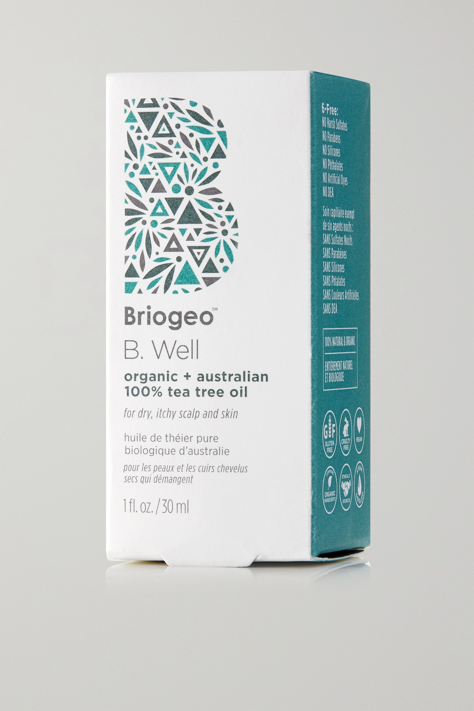 Briogeo B. Well Organic + Australian 100% Tea Tree Oil, 30ml