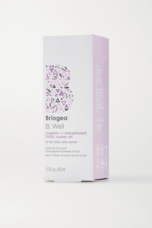 Briogeo B. Well Organic + Cold-Pressed 100% Castor Oil, 45ml
