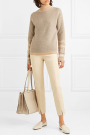 Loro Piana Fair Isle cashmere turtleneck sweater