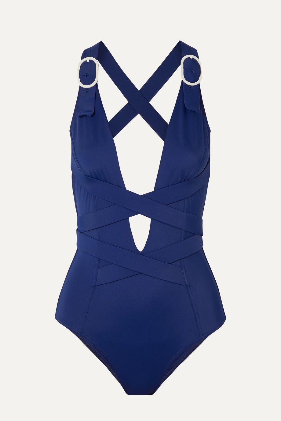 Medina Swimwear Seaquest buckled swimsuit