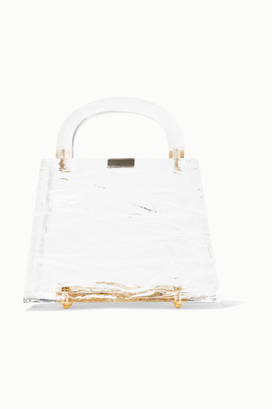 Exact Product: Eva Crushed Ice Bag, Brand: L'afshar, Available on: net-a-porter.com, Price: $680