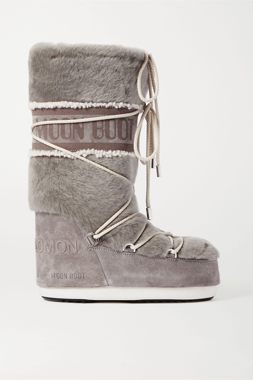 suede snow boots | Yves Salomon