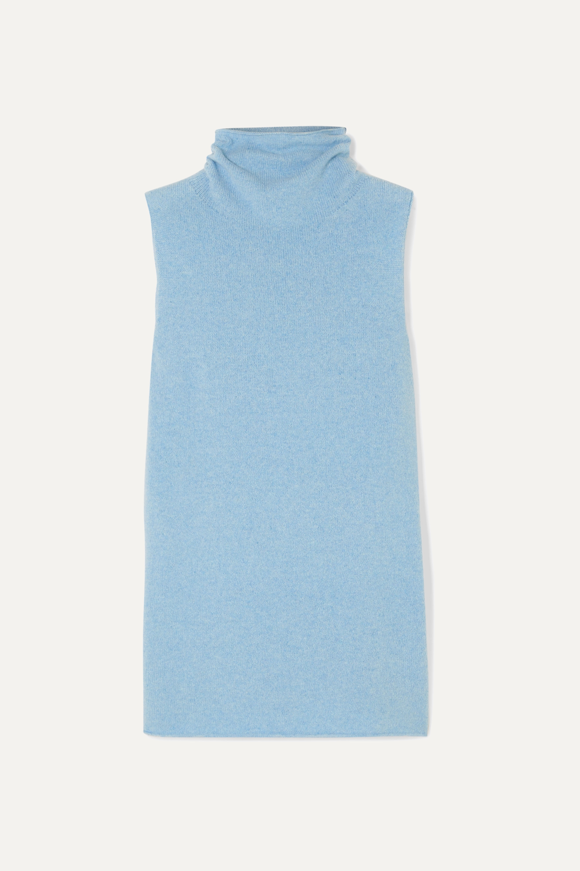 The Row Leona wool and cashmere-blend turtleneck sweater
