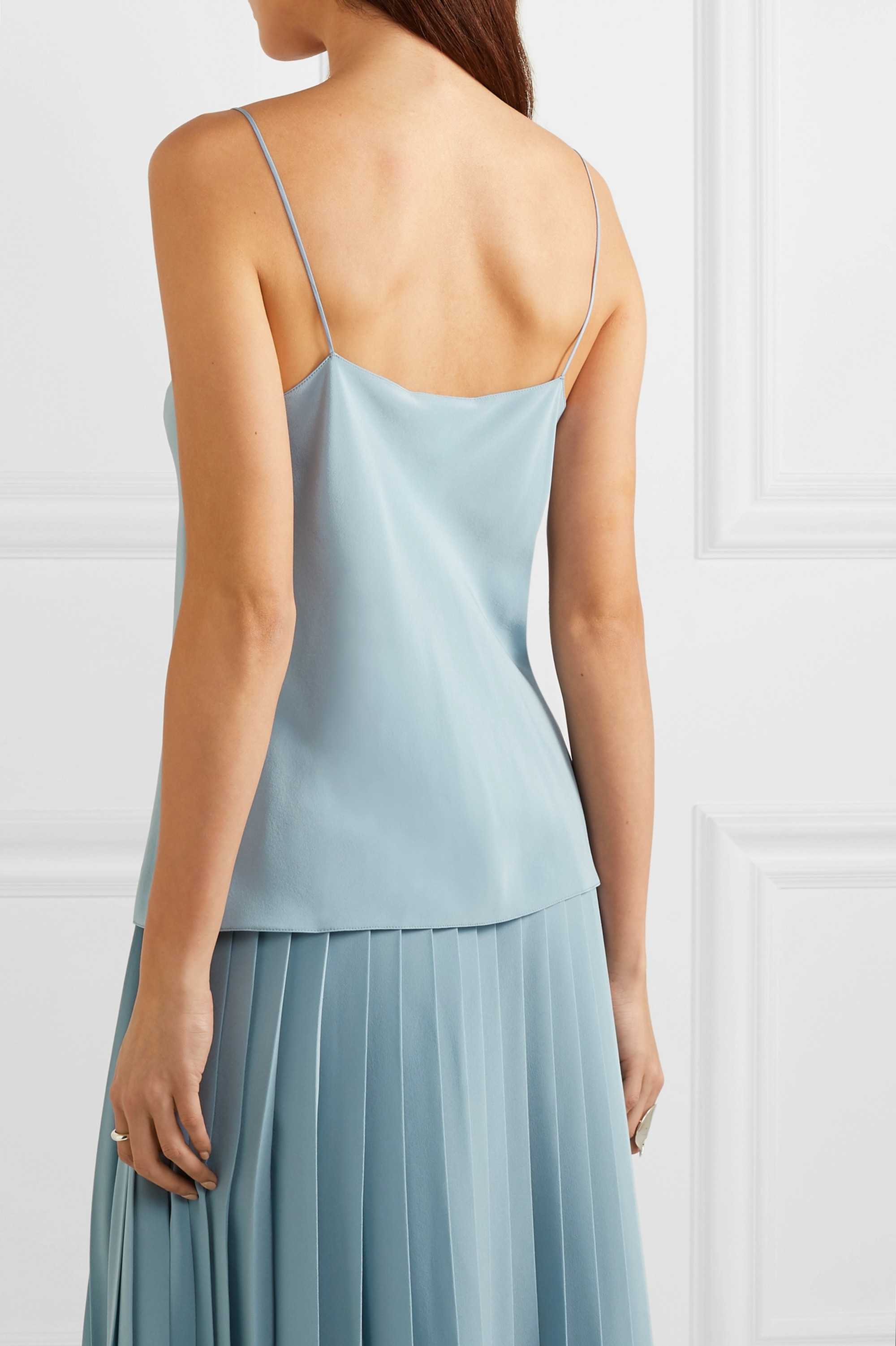 The Row Prima silk-satin camisole