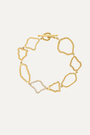 Kimberly McDonald + NET SUSTAIN 18-karat gold diamond bracelet