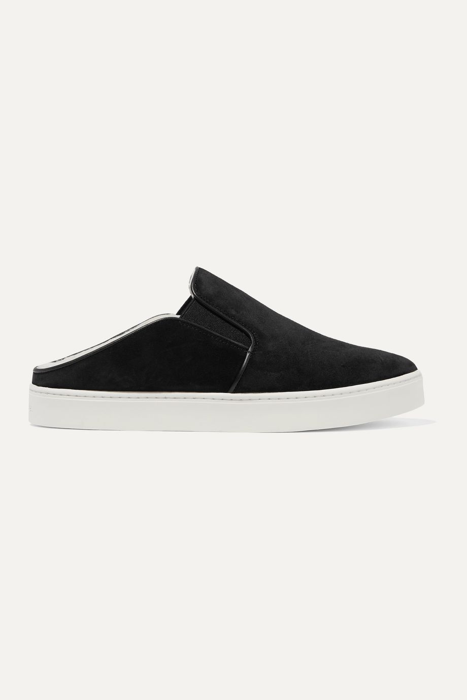 Vince Garvey shearling-lined suede sneakers