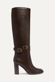 Gianvito Rossi 85 kniehohe Stiefel aus Leder
